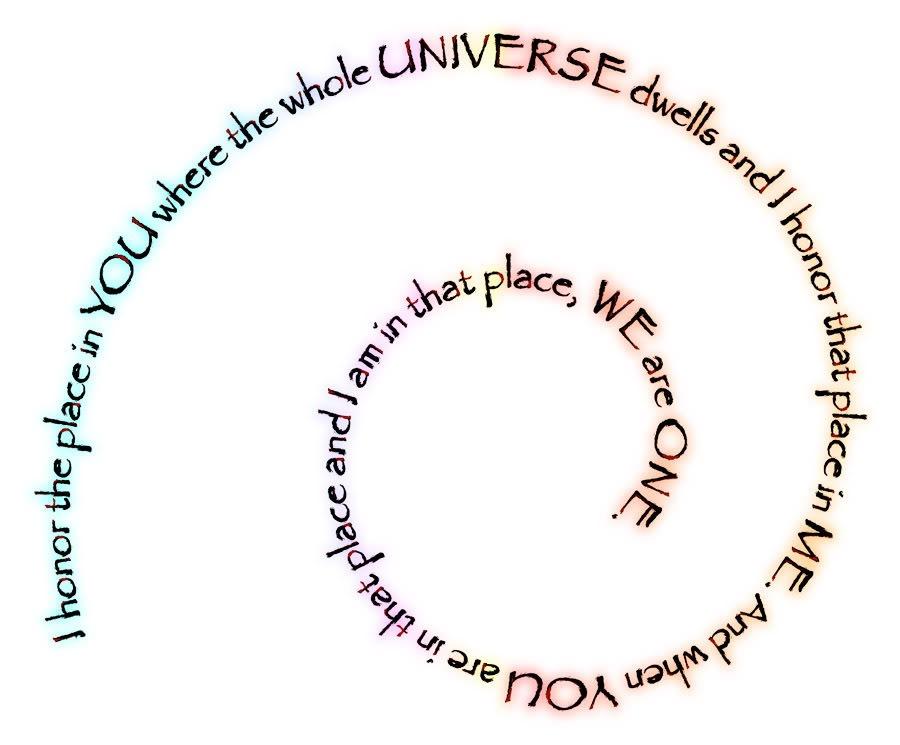 namaste spiral