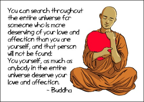 in Buddha's words